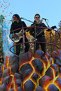 New York, NY-November 23: Recording Artists Goo Goo Dolls attend the 91st Annual Macy's Thanksgiving Day Parade on November 23, 2017 held in New York City Credit: (Photo by Terrence Jennings/terrencejennings.com)