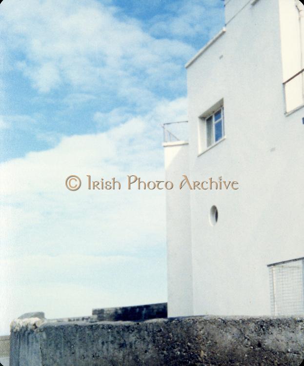 Old Dublin Amature Photos 1980s With Martello Tower, seaside, Veranda,