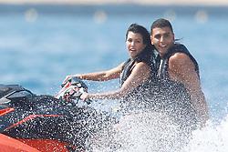 Antibes, 24th of May, 2017<br /> Kourtney Kardashian and boyfriend Younnes jet skiing<br /> ABACAPRESS.COM