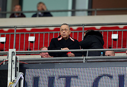 West Ham United co-owner David Sullivan during the Carabao Cup, Fourth Round match at Wembley, London.