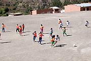 Bolivia,  June 2013. Sahapaqui. Girls football match.