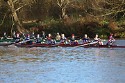Crew: 77   W 8+ BAND-4   St Annes College Boat Club   St Anne's Boat Club<br /> <br /> Wallingford Head 2017<br /> <br /> To purchase this photo, or to see pricing information for Prints and Downloads, click the blue 'Add to Cart' button at the top-right of the page.
