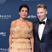 NLD/Amsterdam/20191028 - Koninklijk bezoek Premiere Galapagos, Annechien Steenhuizen en Ronan Keating