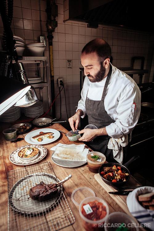 Food photography. Chef Dan Geltner. 2013.