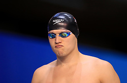 Nicholas Grainger before competing in the Men's 100m Freestyle during day three of the 2017 British Swimming Championships at Ponds Forge, Sheffield.