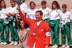 Raymakers Piet, BEL<br /> Olympic Games Barcelona 1992<br /> © Hippo Foto - Dirk Caremans<br /> 20/04/2021