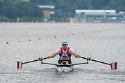 Poznan, POLAND, 21st June 2019, Friday, Morning Heats, FISA World Rowing Cup II, Malta Lake Course, © Peter SPURRIER/Intersport Images,<br /> <br /> 09:20:06