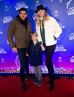 Jodie Kidd, Joseph Bates and and  Indio at the  Hyde Park Winter Wonderland launch, London, UK - 20 Nov 2019