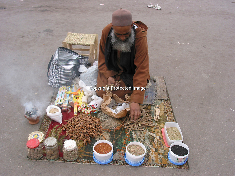 traditional herbs in morocco