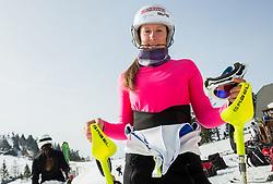 Katja Jazbec during Women's Super Combined Slovenian National Championship 2014, on April 1, 2014 in Krvavec, Slovenia. Photo by Vid Ponikvar / Sportida