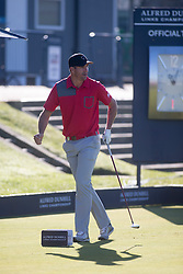 Kevin Pietersen. Alfred Dunhill Links Championship this morning at St Andrews.