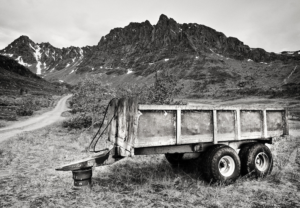 Norway - Landscape with trailer