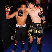 Kick box fight night