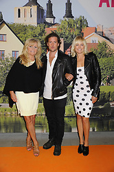 July 2, 2017 - Visby, Sweden - Malin Akerman with her new boyfriend Jack Donnelly and her mother Pia Ã…kerman Tarnoy in Visby, Sweden 2017-07-02..(c) Cecilia Liljeton / IBL Bildbyrà (Credit Image: © Aftonbladet/IBL via ZUMA Wire)