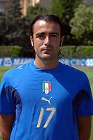 Fotball<br /> Italia landslag VM 2006<br /> 25.05.2006<br /> Foto: imago/Digitalsport<br /> NORWAY ONLY<br /> <br /> Simone Barone (Italien)