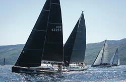 Sailing - SCOTLAND  - 25th May 2018<br /> <br /> Opening days racing the Scottish Series 2018, organised by the  Clyde Cruising Club, with racing on Loch Fyne from 25th-28th May 2018<br /> <br /> Class one, GBR4822R, El Gran Senor, Jonathan Anderson, CCC, J122E<br /> <br /> Credit : Marc Turner<br /> <br /> Event is supported by Helly Hansen, Luddon, Silvers Marine, Tunnocks, Hempel and Argyll & Bute Council along with Bowmore, The Botanist and The Botanist