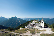 Monte Lussari, near Tarvisio and the border with Slovenia, on the Alpe Adria Trail, in the Friuli Venezia Giulia region of northern Italy (August 2015) © Rudolf Abraham