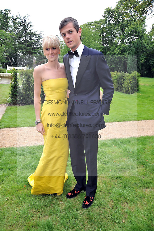 LADY EMILY COMPTON and the HON.ALEXANDER SPENCER-CHURCHILL at the Raisa Gorbachev Foundation fourth annual fundraising gala dinner held at Stud House, Hampton Court, Surrey on 6th June 2009.