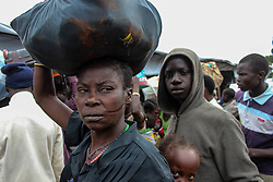 South Sudanese refugees coming into Uganda from Oraba border town are mostly coming from Yei and Lainya towns and speak of ethnic killings. More than 300,000 South Sudanese refugees have fled from the country's civil war into Uganda since fighting broke out in July. They mostly travel by foot for days through the bush as roads have been blocked or are too dangerous to cross. The massive influx of refugees has caused a strain in humanitarian aid due to large numbers and lack of funding. BidiBidi settlement is now the third largest in the world and holds more than 210,000 people since its opening in September.