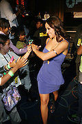 Stephanie Varro at the South Pole Fashion show during ' The Stay in School Concert ' facilated by Entertainers for Education held at The Manhattan Center on October 28, 2008 in New York City