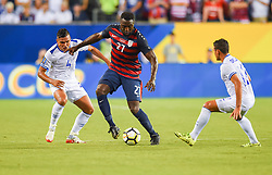 July 19, 2017 - Philadelphia, PA, USA - Philadelphia, PA - Wednesday July 19, 2017: Jozy Altidore during a 2017 Gold Cup match between the men's national teams of the United States (USA) and El Salvador (SLV) at Lincoln Financial Field. (Credit Image: © Brad Smith/ISIPhotos via ZUMA Wire)