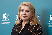 at the photocall for the film The Truth (La Vérité) at the 76th Venice Film Festival, on Wednesday 28th August 2019, Venice Lido, Italy.