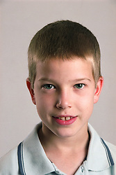 Portrait of young boy,