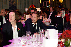 Right, PETER CROUCH at Fashion For The Brave at The Dorchester, Park Lane, London on 8th November 2013.