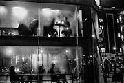 Starbucks, Oxford St. near, Tottenham Court Rd.. London. 16 January 2016