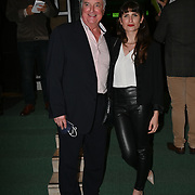 Clive Carter, and his daughter attended, A Gala Performance of Wicked. In celebration of its 15th Anniversary in London at Apollo Victoria Theatre, London, UK. on 28th September 2021.