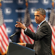 President Barack Obama speaks at the NALEO (National Association of Latino Elected and Appointed Officials) conference at the Disney Contemporary Resort Convention Center in Lake Buena Vista, Fla. on Friday, June 22, 2012. (AP Photo/Alex Menendez) President Barack Obama speaks in Orlando, Florida.