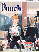 Punch (front cover, 31 July 1963)