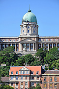 Eastern Europe, Hungary, Budapest, Royal Palace (Kiralyi palota)