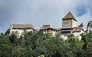 Hohenklingen Castle was built in 1225 in Stein am Rhein. Schaffhausen Canton, Switzerland, Europe.