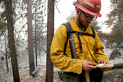 July 31, 2018 - California, U.S. - Greyback Forestry. The Ferguson Fire now in its 20th day, started July 13 on the Sierra National Forest. The fire is now 62,883 acres with 39 percent containment and 3,558 personnel that are currently engaged on the fire which include 203 engines, 43 water tenders, 14 helicopters, 95 crews, 5 masticators and 62 dozers. There has been 2 fatalities and 9 injuries to date. 1 structure has been destroyed. (Credit Image: © Rubicon/Cal Fire via ZUMA Wire/ZUMAPRESS.com)