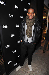 Actor CHIKE OKONKWO at the Lee store re-launch party held at 13-14 Carnaby Street, London on 31st March 2010.