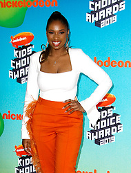 March 23, 2019 - Los Angeles, CA, USA - LOS ANGELES, CA - MARCH 23: Jennifer Hudson attends Nickelodeon's 2019 Kids' Choice Awards at Galen Center on March 23, 2019 in Los Angeles, California. Photo: CraSH for imageSPACE (Credit Image: © Imagespace via ZUMA Wire)
