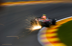 August 24, 2018 - Spa-Francorchamps, Belgium - Motorsports: FIA Formula One World Championship 2018, Grand Prix of Belgium, .#33 Max Verstappen (NLD, Aston Martin Red Bull Racing) (Credit Image: © Hoch Zwei via ZUMA Wire)
