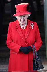 December 25, 2019, Sandringham, United Kingdom: Royals leaving the Christmas Day church service at Sandringham in Norfolk, United Kingdom. (Credit Image: © Stephen Lock/i-Images via ZUMA Press)