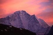 Peak in Nepal Himalaya