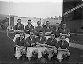 1953 - Soccer: Limerick v Longford replay at Dalymount Park