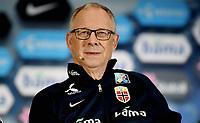 Fotball , 14. mars 2017 ,  pressekonferanse , uttak til Nord-Irland vs Norge<br /> Lars Lagerback<br /> Lars Lagerbäck , Norway