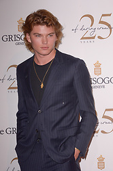 Jordan Barrett attending the DeGrisogono party during the 71st Cannes Film Festival in Antibes, France, on May 15, 2018. Photo by Julien Reynaud/APS-Medias/ABACAPRESS.COM