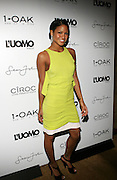 """Cassie pictured at the cocktail party celebrating Sean """"Diddy"""" Combs appearance on the """" Black on Black """" cover of L'Uomo Vogue's October Music Issue"""