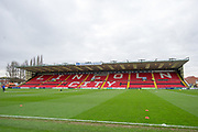 A General View of Sincil Bank before the EFL Sky Bet League 2 match between Lincoln City and Coventry City at Sincil Bank, Lincoln, United Kingdom on 18 November 2017. Photo by Craig Zadoroznyj.