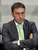 20091106: Paulo Bento resigns as Sporting Lisbon coach, after five seasons leading the Lisboa 'Lions'. ***FILE PHOTO*** 20070128: PORTO, PORTUGAL - Portuguese Bwin League, 16th round: Boavista vs Sporting. In picture: Sporting coach Paulo Bento. PHOTO: MANUEL AZEVEDO/CITYFILES
