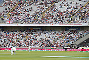 A poor turn-out on day one of the first Test Match between England and India at Edgbaston, Birmingham. Photo: Graham Morris  / www.photosport.nz