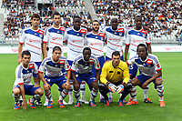 FOOTBALL - FRIENDLY GAMES 2012/2013 - OLYMPIQUE LYONNAIS v ATHLETIC BILBAO - 13/07/2011 - PHOTO EDDY LEMAISTRE / DPPI - YOANN GOURCUFF, MAXIME GONALONS, ALY CISSOKHO, LISANDRO LOPEZ, MOHAMED YATTARA, GUEIDA FOFANA<br /> ENZO REALE, JEREMY PIED, MAHAMADOU DABO, REMY VERCOUTRE, BAKARY KONE