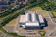 Nederland, Gelderland, Arnhem, 29-05-2019; Multifunctioneel stadion en evenementencomplex GelreDome. Thuisbasis van FC Vitesse<br /> Multifunctional stadium and event complex GelreDome. Home of FC Vitesse.<br /> luchtfoto (toeslag op standard tarieven);<br /> aerial photo (additional fee required);<br /> copyright foto/photo Siebe Swart