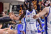 Ousmane Diop<br /> Banco di Sardegna Dinamo Sassari - Victoria Libertas VL Pesaro<br /> Legabasket Serie A LBA PosteMobile 2017/2018<br /> Sassari, 26/12/2018<br /> Foto L.Canu / Ciamillo-Castoria